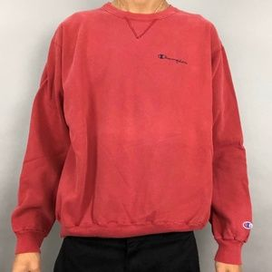 Vintage 90s champion spell out crewneck